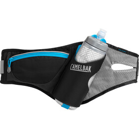 CamelBak Delaney Drinking Belt with Podium Chill Black/Atomic Blue